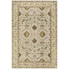 grey and cream area rug geometric wool royalty hand woven wool light grey cream area rug