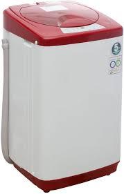 haier washing machine. Modren Machine Haier 58 Kg Fully Automatic Top Load Washing Machine Red In 7