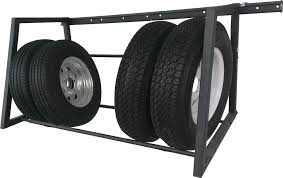 wall mount tire rack. Perfect Mount 400 Lb Adjustable Wall Mount Tire Rack With T