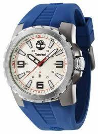 timberland watches official uk retailer first class watches timberland mens ballard blue rubber strap beige dial 14478jsus 07p