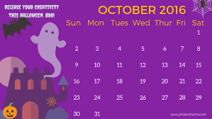 Image result for October 2016 Printable Calendar