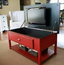 Superior Tv In Flip Up Coffee Table Cute For Small Apartments Good Ideas