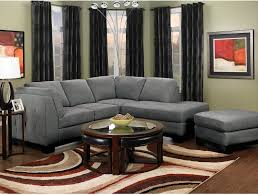 the brick living room furniture. Microsuede Living Room Furniture Luxury Oakdale 2 Piece Sectional W Right Facing Chaise Grey The Brick