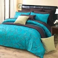 blue and brown duvet cover teal and brown duvet cover sultan rich turquoise with paisley motif in dark espresso brown duvet teal and brown duvet cover light