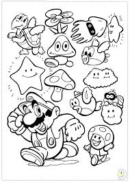 Free Coloring Pages Mario Campradioorg