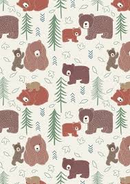 206 best Fabric - Children images on Pinterest | Fabric, Kid ... & Big Bear Little Bear - Momma & Cub - Eggshell Quilt fabric online store  Largest Selection, Fast Shipping, Best Images, Ship Worldwide Adamdwight.com
