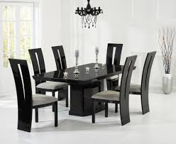 Black Kitchen Table Brilliant O 200cm Black Marble Dining Table