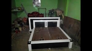 Double Bed Sunmica Designs Best Showcase Lcd Penal Best Bed Sunmica Design