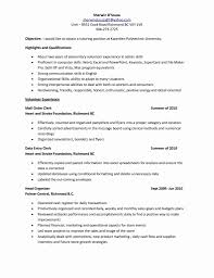 Clerical Job Resume Data Entry Clerk Job Description Resume Resume Administrative 16