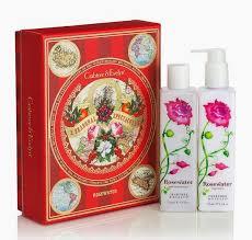 crabtree evelyn gift set rose water shower gel body lotion set london crabtree evelyn crabtree evelyn gift set rose water