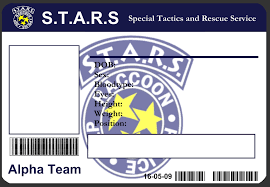 Membership Card Template Delectable STARS ID Card Template By JJJoker On DeviantArt