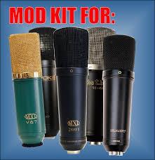 silent sky studios mic mod kits and mod services 2001 microphone mod kit
