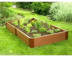 garden bed wooden raised beds garden kits recycled plastic raised bed garden kits by raised