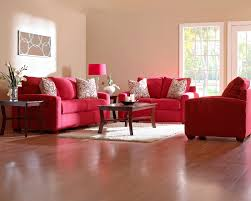 Living Room With Red Furniture Enchanting Living Room Interior Sets With White Wall Paint Feat