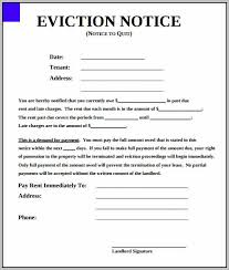 Eviction Notices Template 100 day eviction notice template visualbrains 16