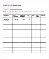 Medication Planner Chart Daily Medication Schedule Template Lamasa Jasonkellyphoto Co