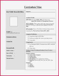 Best Resume Format For Freshers Sample Hr Resumes For Freshers