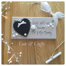 wedding countdown plaque cute & crafty Wedding Countdown Photos wedding countdown plaque wedding countdown images