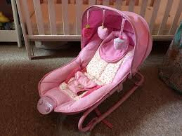 Babies r us' pink cupcake bouncer - Newport Isle of Wight - Expired ...