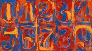 zero nine painting jasper johns zero nine art print