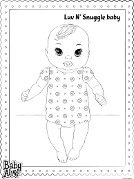Small Picture Baby Alive Coloring Pages Get Coloring Pages