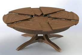 expandable round dining table design modern home extendable set