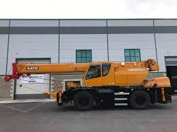 Kato Sr 300l 30 Ton Rough Terrain Crane Mobile Crane From