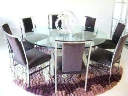 how to select large round dining table home decor round glass dining table large round glass