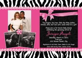 Zebra Lime Green Hot Pink Polka Dots Baby Shower InvitationPink Zebra Baby Shower Invitations