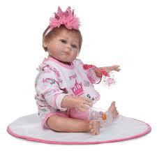 baby girl bathtub best of 19 5 handmade silicone reborn girl lovely dolls newborn