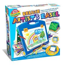 simplistic creativity desk and easel f1107000 american plastic toys creativity desk and easel