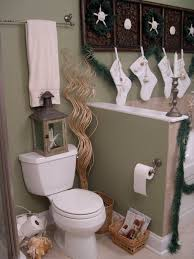 Cheerful Small Bathroom Decorating Ideas With Amazing Painting Wonderful  Christmas Themes ...