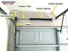 garage door tracks garage door track bending