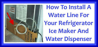 how to install a water line to your refrigerator easy step by how to install a refrigerator water line