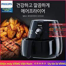 Nồi chiên không dầu Philips HD9220 HD9216 HD9218 - Hàng chính hãng (Bào  hành chính hãng 2 năm)