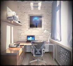 home office simple neat. Cute Simple Home Office Ideas Neat Interior Images Small Business Blue M