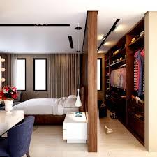 Schöne Modernes Schlafzimmer Mit Begehbarem Kleiderschrank Wie Kann