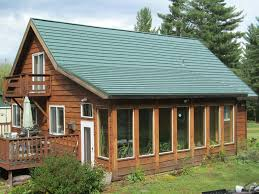 green rustic metal roofing shingle in forest intended green roof shingles s74