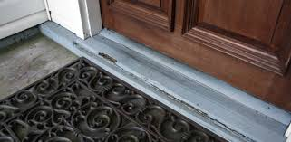 front door thresholdHow to Replace a Rotten Entry Door Sill  Todays Homeowner