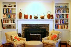 fireplace mantel decor at living room joanne russo homesjoanne