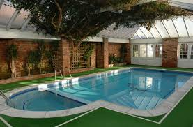 Swimming Pool:Modern Outdoor Swimming Pool Design With Cool Lighting Ideas  Modern Germany House Design