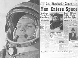 Although the first man in space looms large in our imaginations, he was only 5 foot 2. Celebrating The First Human In Space Youngzine Science