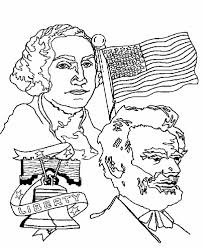Small Picture Presidents Day Coloring Pages Image Gallery Presidents Day