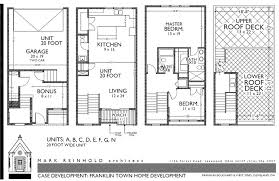 FloorplansTownhomes Floor Plans