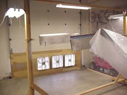 garage paint booth design
