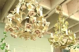 chandeliers antique porcelain chandelier chandeliers in tole with roses vintage porcelain rose chandelier