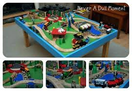 thomas the tank engine table the train table set the train table set never a dull