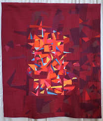 84 best Quilts: Red images on Pinterest | Modern, Painting and ... & The Quilts of Quiltcon 2016 | Fancy Tiger Crafts Adamdwight.com