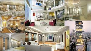 Inside Of Ambani S House Antilla And Cars Youtube Antilla House Interior