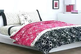 black and pink duvet cover pink and black bed sets black and pink bedding set modern